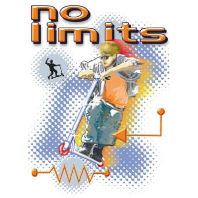 No Limits Scooter - Adulto - 5 Unidades