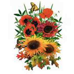Flor Bouquet - Adulto - 6 Unidades