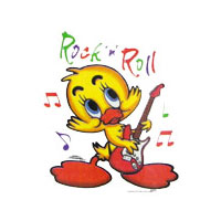 ROCK N ROLL DUCKY  INF. 5 UNID.