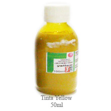 Tinta Sublimática (YELLOW) AMARELA 100ml